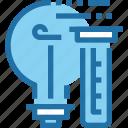 chemistry, education, idea, laboratory, science, test, tube icon