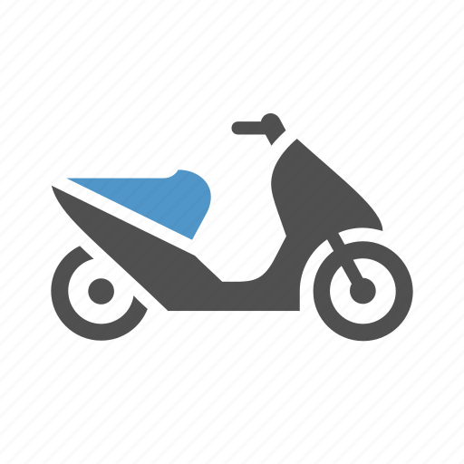 bike, delivery, moped, motor scooter, motorbike, motorcycle, scooter icon