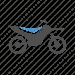 extreme sport, motocross, motorbike, motorcycle, sport transport, tournament icon