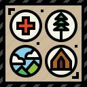 badges, emblem, scout, shield