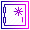 code, encryption, lock, protection, safebox, security icon