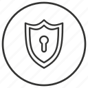 antivirus, autopilot, lock, protection, security icon
