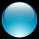 aqua, ball icon