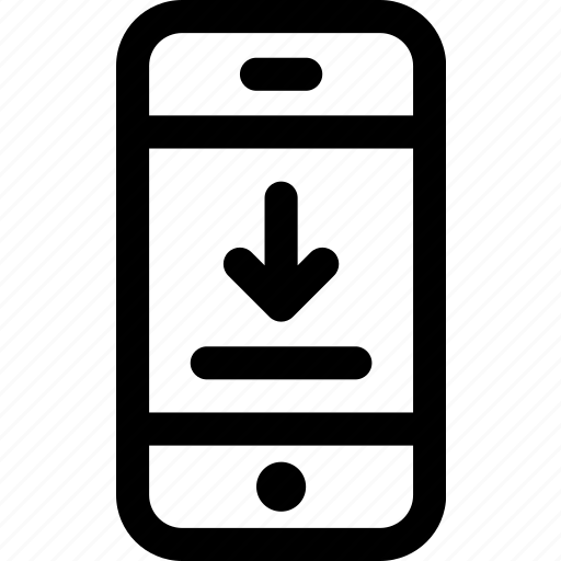 data, device, download, internet, mobile, online, phone icon