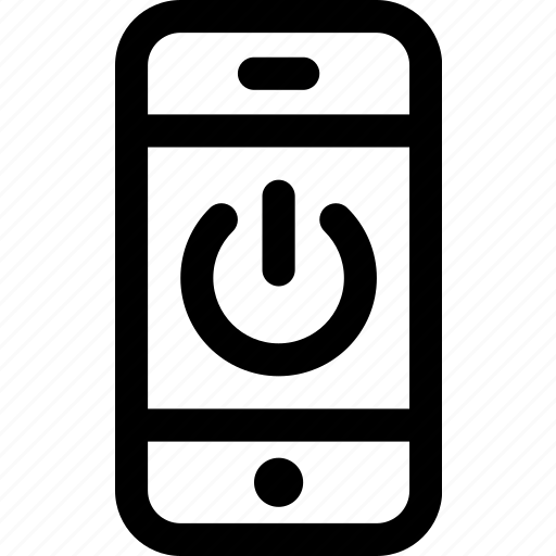 device, energy, internet, mobile, phone, power, standby icon
