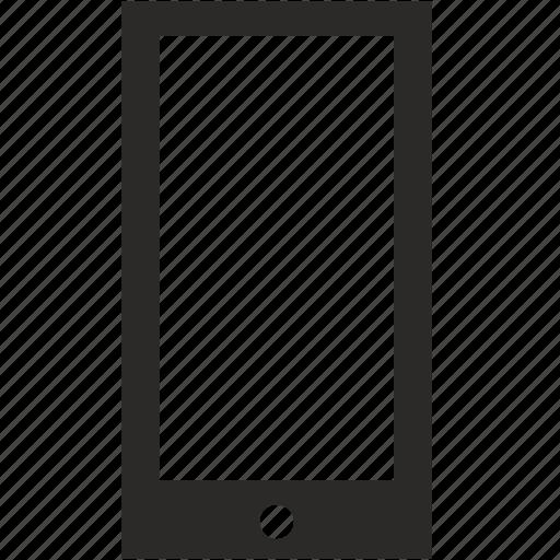 mobile, screen, smartphone icon