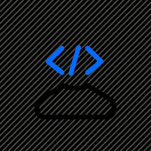 dev, developer, scrum, technician icon