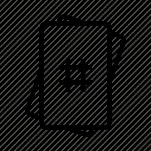 card, cards, estimate, estimation, scrum, scrum planning, sprint planning icon