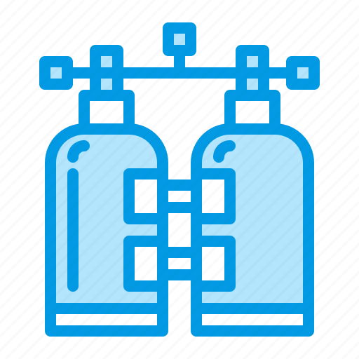 Diving, scuba, tank, water icon - Download on Iconfinder