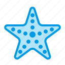 fish, sea, star, starfish icon
