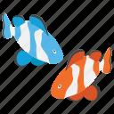 fish, ocean mammals, sea animal, sea creature, whopper icon