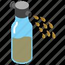sea spray, spindrift, mist, foam, haze, spray
