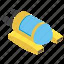 scuba diving machine, scuba gear, swimming transport, underwater wheel icon