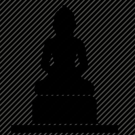 budda, monument, sculpture, trust icon