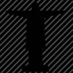 art, jesus, monument, sculpture icon
