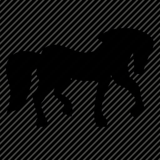animal, figurine, horse, proud, stallion, wild icon