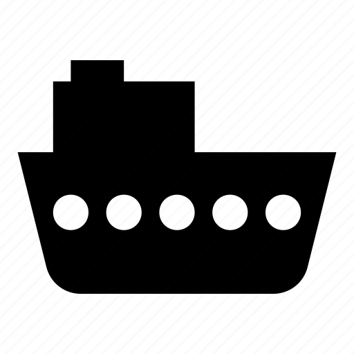boat, boating, craft, sea, ship, steamer icon