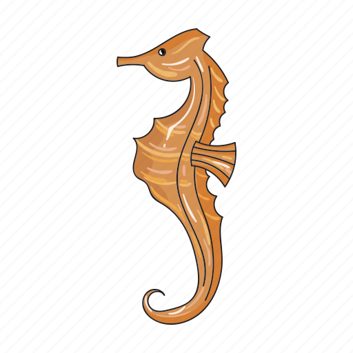 animal, sea, seahorse icon