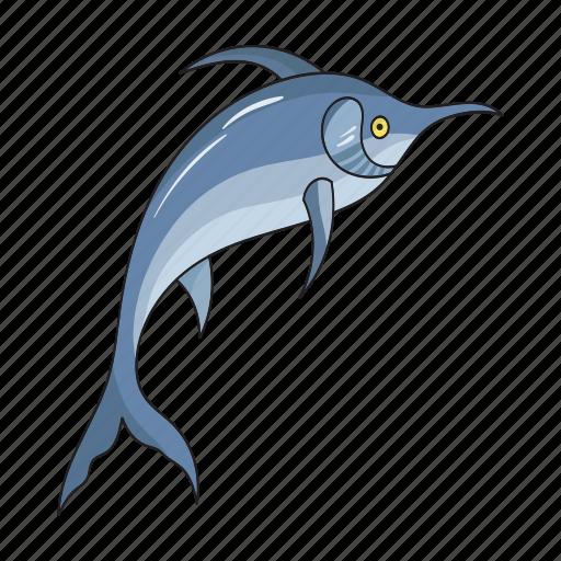 animal, fish, marlin, sea icon