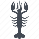 animal, crustaceans, fins, gills, ocean, sea, water icon