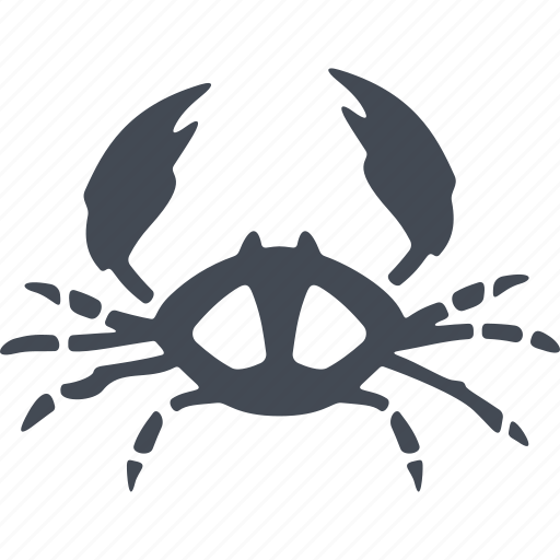 animal, crab, nature, ocean, sea, tail, water icon