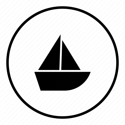 boat, boating, craft, sail, sea, ship, steamer icon