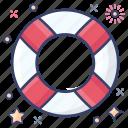 help, life ring, lifebuoy, lifeguard, lifesaver, saver ring icon