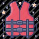 life jacket, life preserver, life saver, life vest, lifebuoy icon