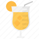 cocktail, fresh juice, lemon juice, lemonade, summer drink icon