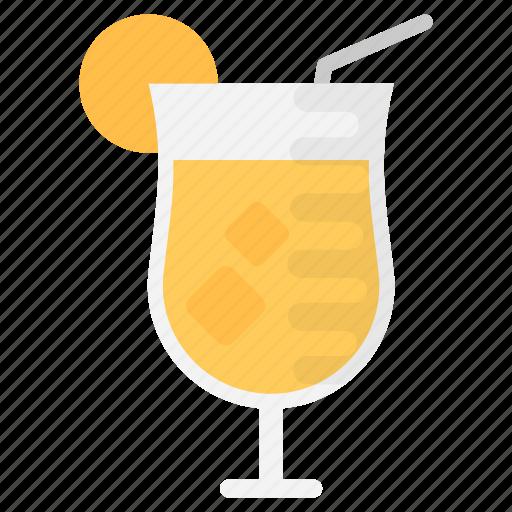 cocktail, fresh juice, lemon juice, lemonade, summer drink icon