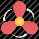 exhaust fan, fan blade, propeller fan, rotating fan, ventilator propeller