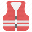 life vest, safety jacket, safety vest, warning safety vest, workwear jacket icon