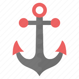 anchor, boat anchor, nautical, sea anchor, ship anchor icon