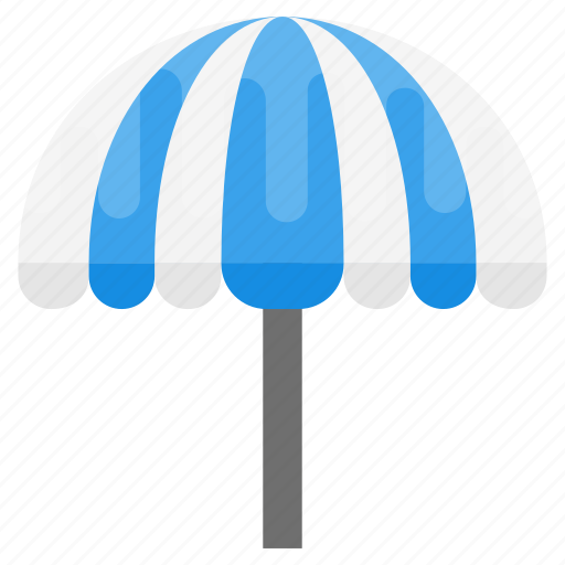 beach umbrella, garden umbrella, outdoor parasol, outdoor restaurant umbrella, outdoor umbrella icon