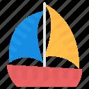 boat, sailboat, ship, watercraft, yacht