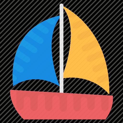boat, sailboat, ship, watercraft, yacht icon