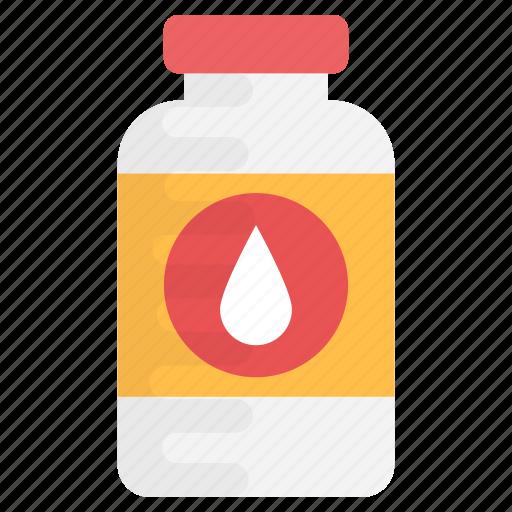 bottle, drink bottle, liquid bottle, sports bottle, water bottle icon