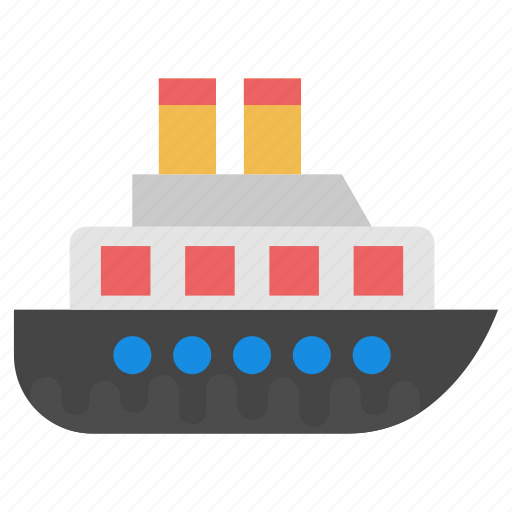 cruise liner, cruise ship, luxury cruise liner, luxury ship, ship icon