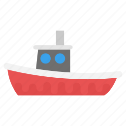cruise ship, ferris boat, ferry, freight ship, sailing vessel icon