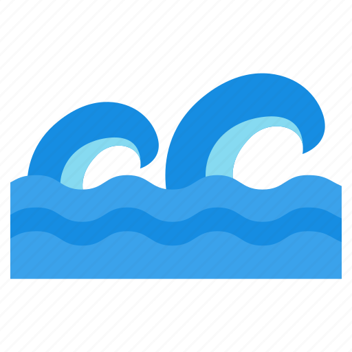 ocean waves, sea with giant waves, water waves. waves splash, waves icon