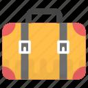 briefcase, business bag, office case, portfolio bag icon