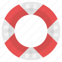 life preserver, life ring, lifebuoy, lifeguard, lifesaver icon