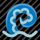 animal, aquatic, ocean, octopus, sea, seafood, tentacle icon