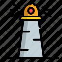 lamp, light, lighthouse, sea