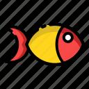 fish, food, sea