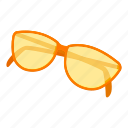 beach, cartoon, eye, fashion, summer, sunglasses, wear icon