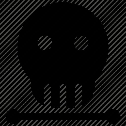 bone, gang, halloween, pirate, sea, skeleton, skull icon