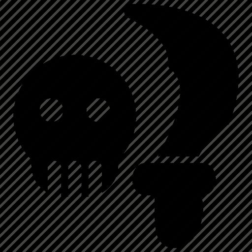 Blade, bone, pirate, sea, skeleton, skull, weapon icon - Download on Iconfinder