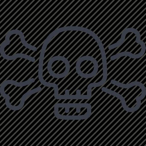 beach, corsaire, pirate, sea, ship, skull icon