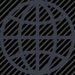 global, globe, map, sea, world icon